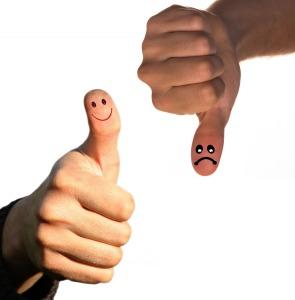 'Just think positive!' isn't always good advice