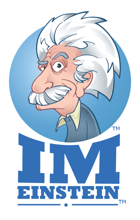 IM Einstein Logo Internet Marketing DeKalb, IL